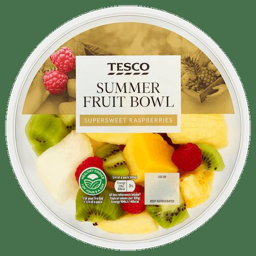 Tesco Summer Fruit Bowl 435g T1