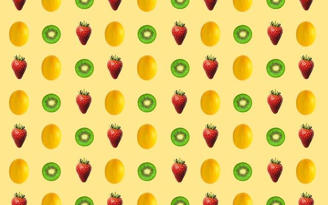 Kiwi Melon Straw